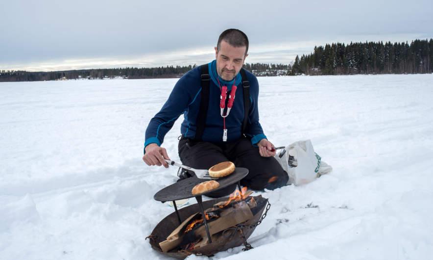 Me grilling (Foto: Stefan Långström)