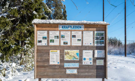 Kraftleden –Information board
