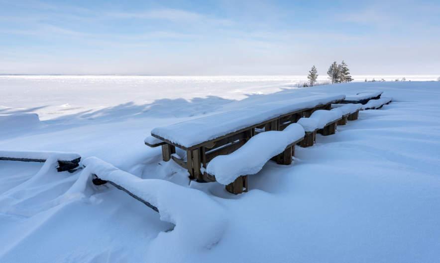 View from Burehällorna