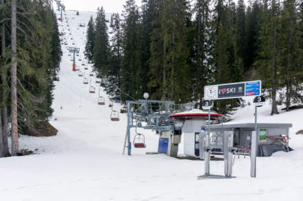 After season ski lift