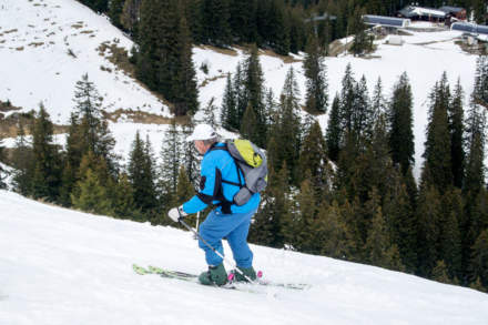 Skiing – the superior type of locomotion