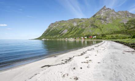 A beach on Senja