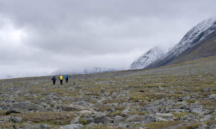 """Arctic hiking I"""
