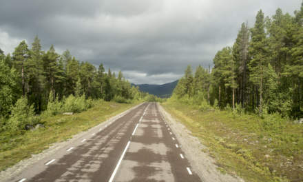 The longest dead-end road in Sweden