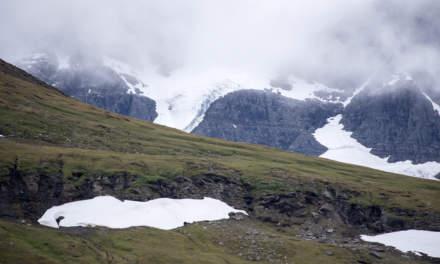 A small glacier