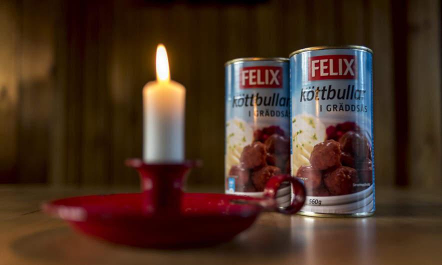 Our dinner: Swedish meatballs in cream
