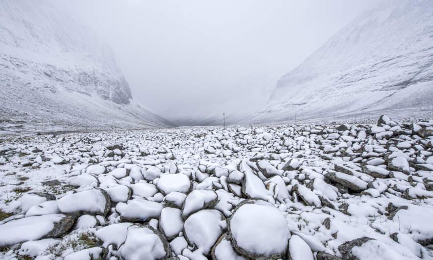 Onset of winter III