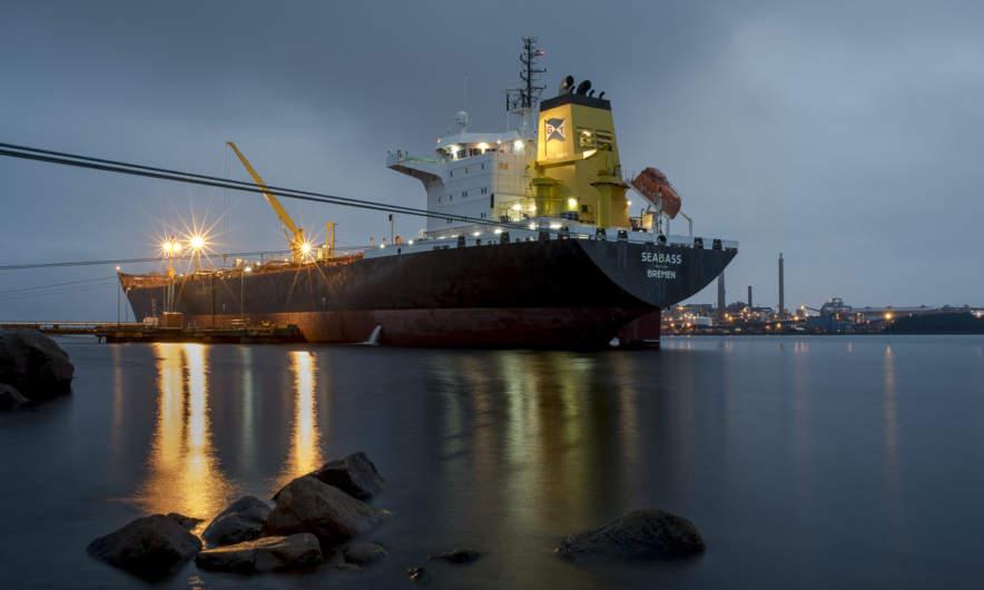 """The ship """"Seabass"""""""