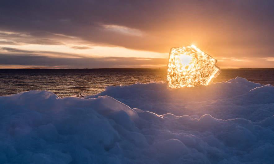 Winter solstice in Skelleftehamn