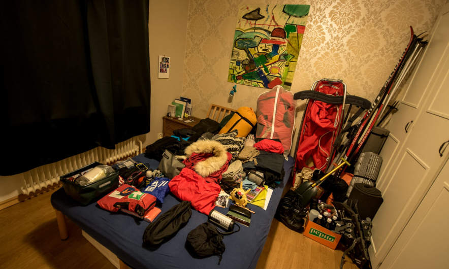 Packing for a long journey …