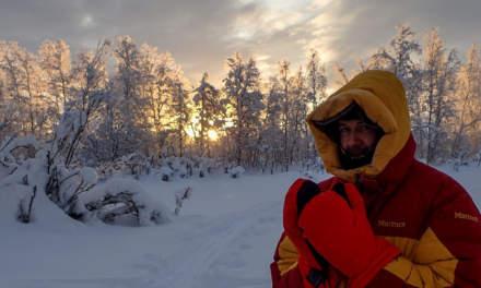 Cold morning and sun rise –photo: Jonas Balbasus