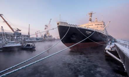 Atomic icebreaker Lenin