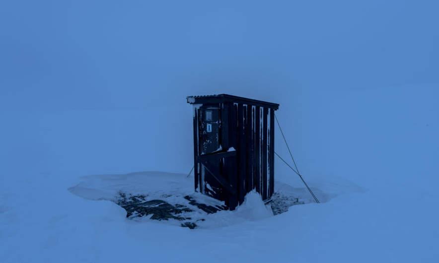 Kurajaure –  the lonely toilet