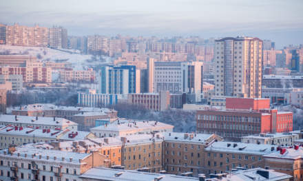 Murmansk skyline