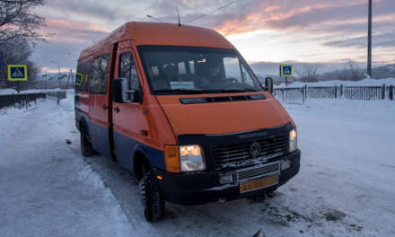 Our bus to Kirkenes