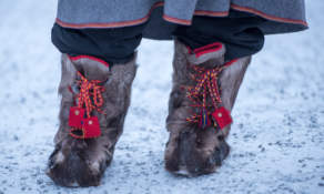 Reindeer shoes II