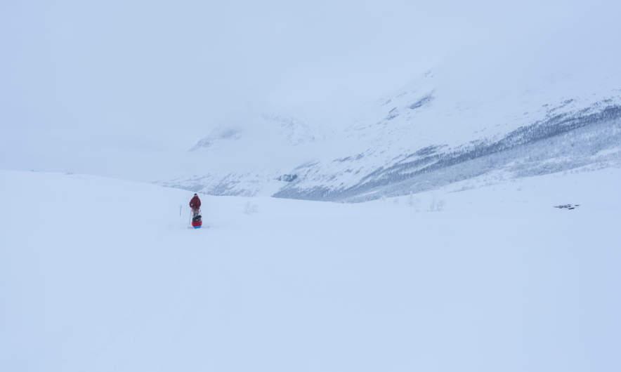 Skiing into infinity