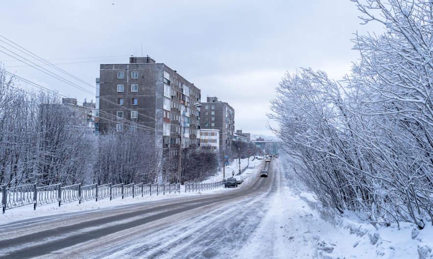 The street Ulitsa Aleksandrova