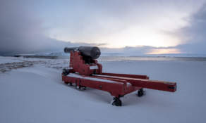 A cannon at the Vardø fortress