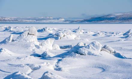 Frozen Varangerbotn