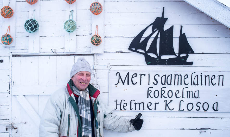 Helmer Losoa, owner and operator of the Sea Sami Collections