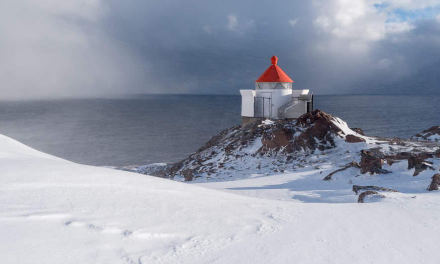 The lighthouse at Kibergsneset