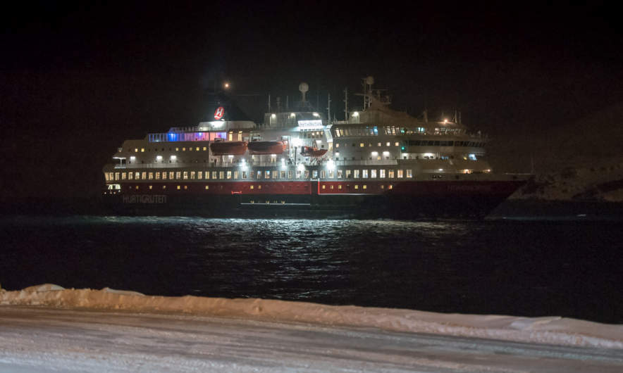 Hurtigruten ship MS Nordnorge