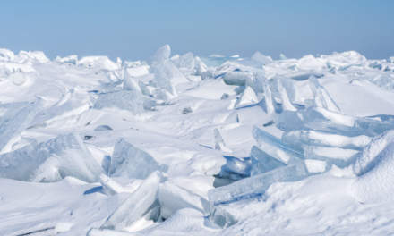 Piles of ice I