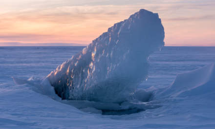 """Tilted ice floe III"""