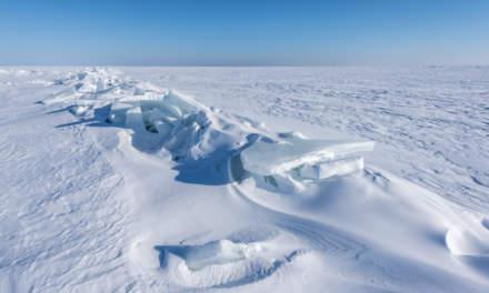 Transversal ice edge