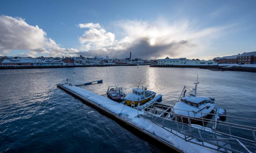 Vardø port