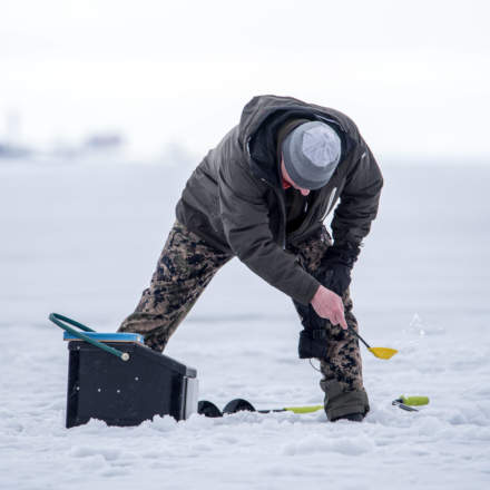 Ice fishing I