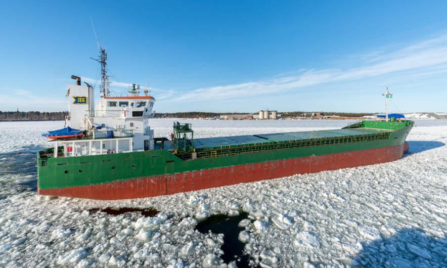 The ice star leaving Skellefteå Hamn II