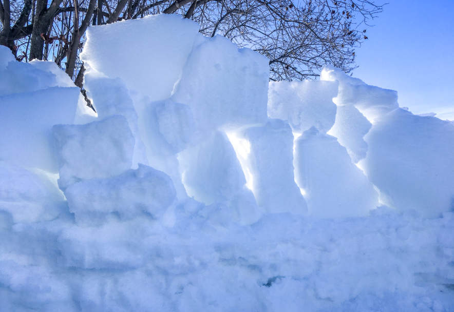 Snow defence work I