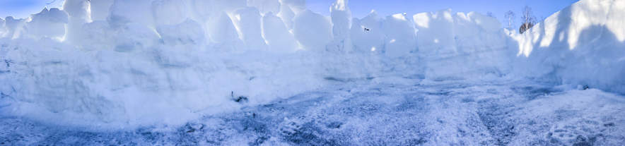 Snow defence work II
