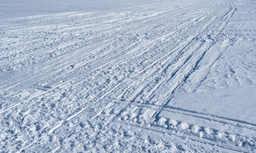 Snowmobile tracks II
