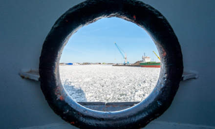 Through the porthole I