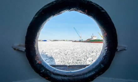 Through the porthole I