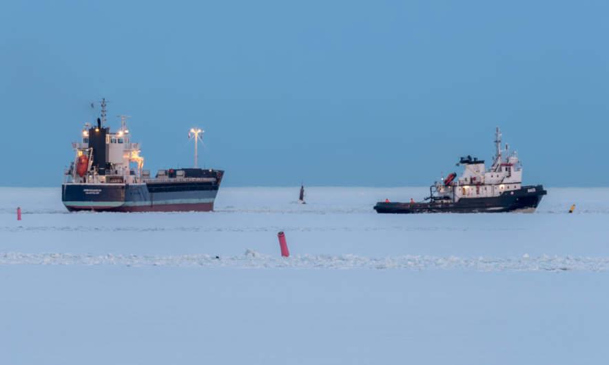 Two more ships in Skelleftehamn