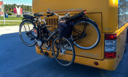 Bike transportation by bus
