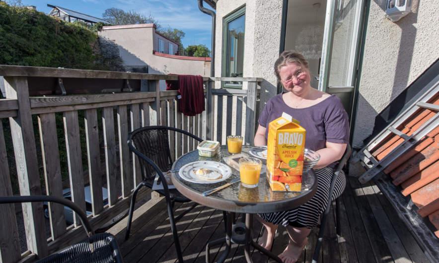 Breakfast in Visby