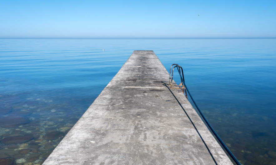 Jetty in Visby