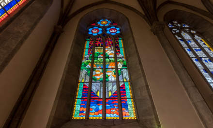 Stained glass in the Visby cathedral II