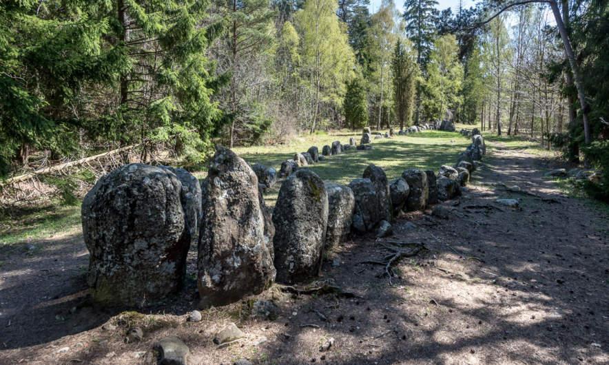 Stone ship near Gnisvärd