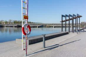 """""""Strandpromenaden"""" – beach promenade in Skellefteå"""