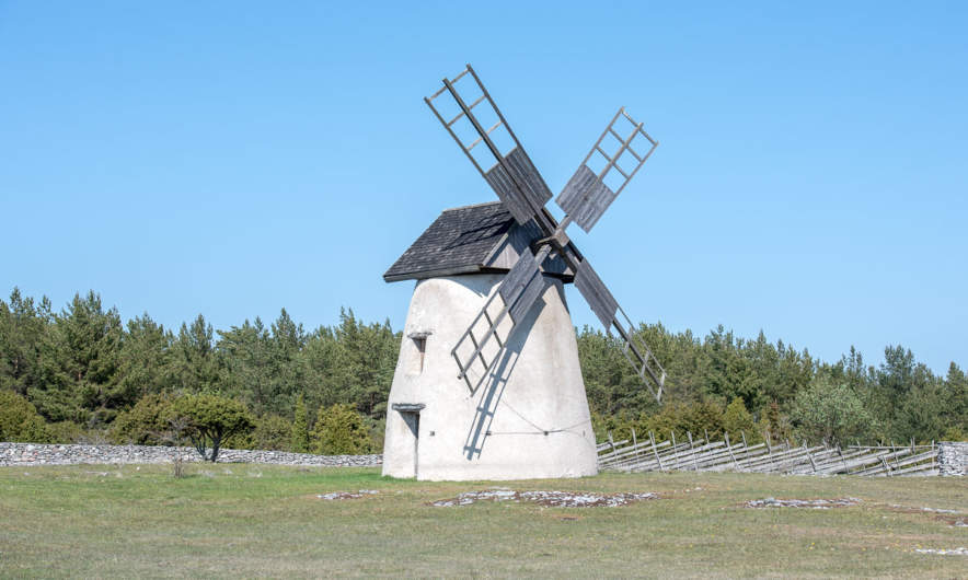 A windmill on Fårö