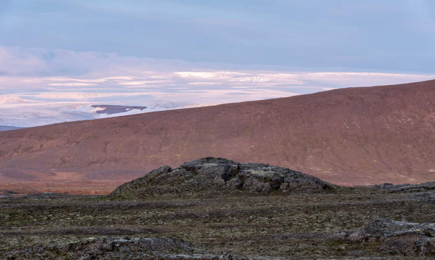 The glacier Hofsjökull
