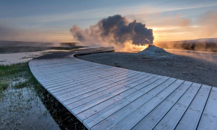 Hot fumarole I