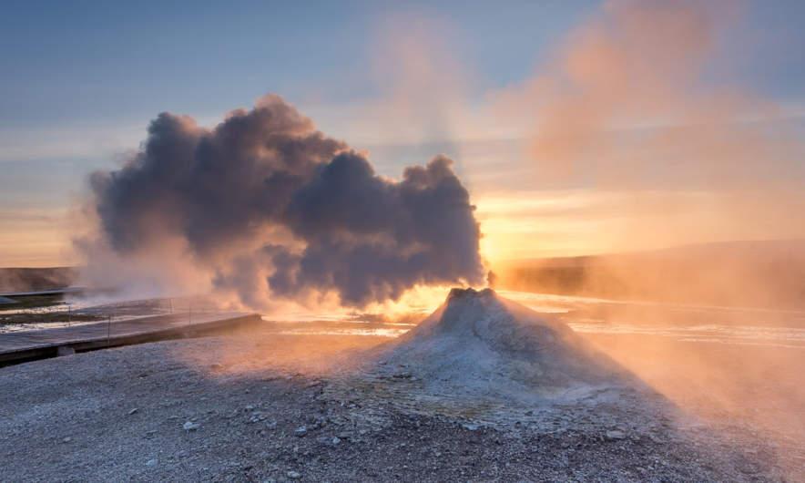 Hot fumarole II