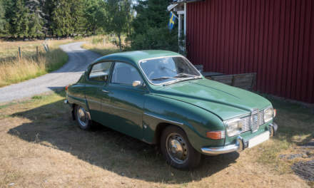 An old Saab V4 from 1969